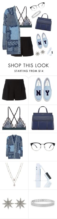 """my love for you is blind, but i couldn't make you see it//0.3"" by calamythie ❤ liked on Polyvore featuring Boutique Moschino, Joshua's, LoveStories, Tory Burch, STELLA McCARTNEY, Winky Lux, Bee Goddess and Anne Sisteron"