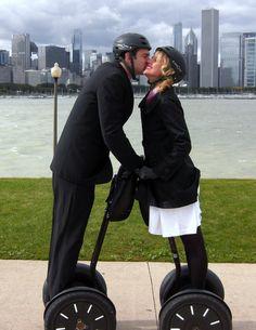 segway tour chicago wedding!