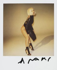 Nobuyoshi Araki Lady Gaga 7