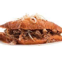 "Torta Ahogada (Mexican ""Drowned"" Sandwich) Recipe | SAVEUR"