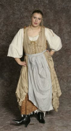 Inventory ::: Hale Center Foundation for the Arts and Education Medieval Clothing, Historical Clothing, Pirate Party Costume, Fantasy Dress, Fantasy Clothes, Renaissance Pirate Costume, 16th Century Fashion, Beauty And The Beast Costume, Cinderella Costume
