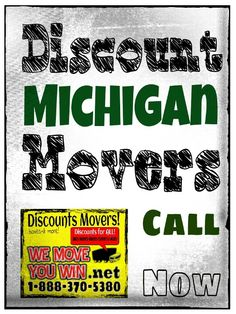 DISCOUNT MICHIGAN MOVERS 18883705380