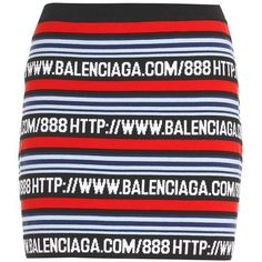 Balenciaga Cotton-Blend Mini Skirt ($690) ❤ liked on Polyvore featuring skirts, mini skirts, multicoloured, multicolor skirt, balenciaga, balenciaga skirt, short blue skirt and short skirts