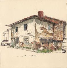 Old house in Guardo by Adolfo Arranz, via Flickr