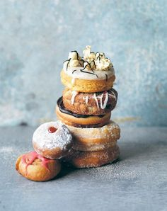 All kinds of doughnuts!