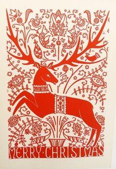 vintage christmas cards | Vintage Christmas cards - Hungarian Folk Art | Creative Inspiration