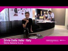 Marmomacc 2012: Silvia Dalla Valle interview (Stone Italiana S.p.a., Italy)