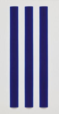 Peter Alexander - Blue Triptych