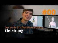 Blender 3D-Charakterworkshop Teil 1 | #00 - Einleitung - YouTube