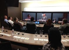 Full room for virtual wine tasting Cisco Systems, Wine Tasting, Conference Room, Audio, Train, Entertaining, Technology, Spaces, Tecnologia