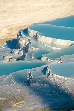 Photo & Image  of Pamukkale Travetine Terrace, Turkey. Images of the white Calcium carbonate rock formations. Buy as stock photos or as photo art prints. 4