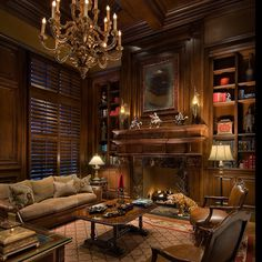 Libraries home offices on pinterest libraries for Best home office in the world