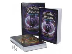 Witches Wisdom Oracle Deck, Tarot Card Deck, Divination Deck, Oracle Cards, O. Divination Cards, Playing Card Games, Oracle Tarot, Tarot Card Decks, Deck Of Cards, Family Gifts, Guide Book, Wisdom, Witches