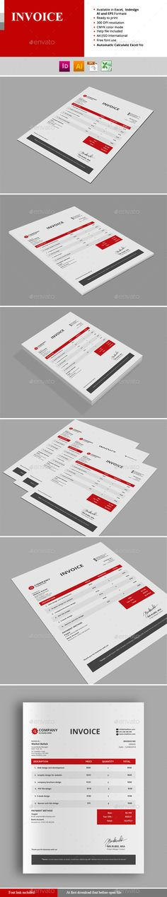 Invoice Template. Download: http://graphicriver.net/item/invoice/11010110?ref=ksioks