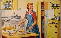 How to Live a Vintage Life - Retro Housewife Goes Green House Cleaning Tips, Cleaning Hacks, Spring Cleaning, Mode Old School, High School, Worst Inventions, Retro Housewife, Housekeeping Tips, Shabby Chic
