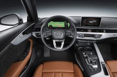 2017 Audi A4  the tobacco interior is everything