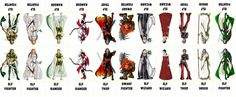 Fantasy Characters 004