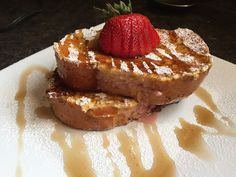 Hold the onion: Strawberry Stuffed French Toast