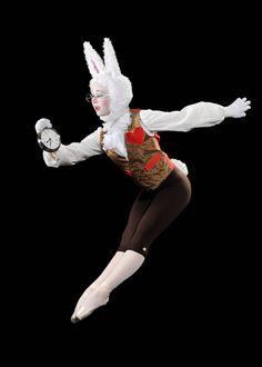 """White Rabbit (LOVE this costume) """"Alice in Wonderland"""" Maple Youth Ballet … Alice In Wonderland Ballet, White Rabbit Alice In Wonderland, Alice In Wonderland Costume, Wonderland Party, Theatre Costumes, Ballet Costumes, Dance Costumes, White Rabbit Costumes, La Bayadere"""