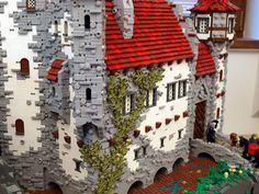 Lego Burg, Minecraft Medieval, Lego Building, Building Ideas, Amazing Lego Creations, Building Concept, Brick Design, Lego Worlds, Lego Photography