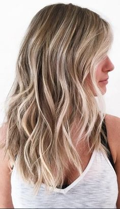 Naturally sunkissed blonde highlights