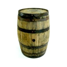 8 Full Size Kentucky Bourbon Whiskey Barrels - Used - Vintage - Rustic - Reclaimed - Upcycled - Recy Whiskey Barrels For Sale, Wine Barrels, Bourbon Barrel Furniture, Jack Daniels Barrel, White Oak Barrels, Jim Beam, Bourbon Whiskey, Recycling Bins, Handmade Furniture