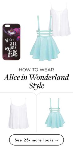 """""""We're all mad here"""" by annabell21 on Polyvore"""