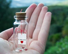It was always you. Tiny message in a bottle. door EyMyMessage