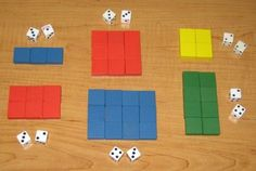 Roll a Rectangle or square Great for comparisons