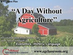 this lesson plan to teach students how agriculture benefits their lives through food, clothing and more. Full lesson plan and worksheet. Ag Science, Teaching Science, Student Learning, Forensic Science, Life Science, Computer Science, Animal Science, Farm Lessons, School Lessons