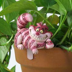 Cheshire Cat Pot Hanger Jim Shore