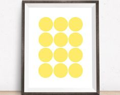 Pick a color and cut out circles. Easy