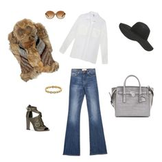 """""""Flare Pants for Winter"""" by fashionandmore-blog on Polyvore"""