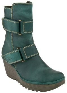 I really love these- the colour, buckles, fabric, stitching etc are all perfect... but I'm not a fan of that heel.