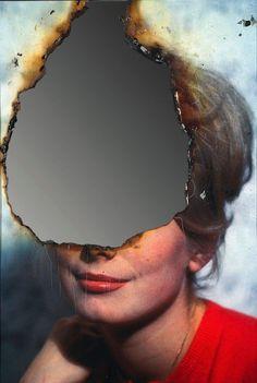 "artistiq-ue: ""Self-Portrait of You + Me (Catherine Deneuve), August 2007 — Douglas Gordon "" Distortion Photography, A Level Photography, Experimental Photography, Photography Projects, Portrait Photography, School Photography, Desing Inspiration, Art Inspo, Catherine Deneuve"