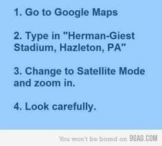 it's harman-geist stadium hazleton PA  not herman.     Just do it.  lol