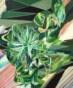 """Saatchi Art Artist Tatiana Urban; Painting, """"Lebende Bruchstücke von gestern (Living fragments of yesterday) """" #art"""