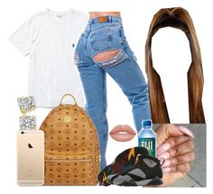 """""""schoool"""" by saucinonyou999 ❤ liked on Polyvore featuring Ralph Lauren, MCM, Retrò and Topanga"""
