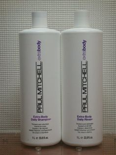 Paul Mitchell ExtraBody Daily Shampoo and Daily Rinse 1 Liter  338 oz Duo Set 2 Bottles >>> Check out the image by visiting the link.