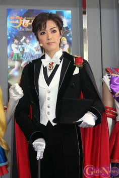 Pretty Guardian Sailor Moon ☆ La Reconquista ~ Yuuga Yamato as Tuxedo Mask