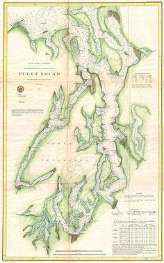 File:1867 U.S. Coast Survey Chart or Map of Puget Sound, Washington - Geographicus - PugetSound-uscs-1867.jpg