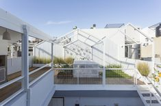 Renovated rooftop space in Buenos Aires, Argentina by Marantz Arcuitectura.