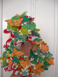 Philip Treacy Inspired Easter Bonnet from paper plate