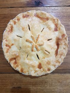 Apple pie for Thanksgiving. made with a short crust pastry. By far easier than flaky pastry.