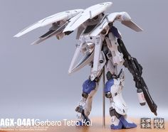 GUNDAM GUY: MSB 1/100 AGX-04A1 Gerbera Tetra Kai - Painted Build