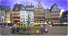 Frankfurt, Germany Square