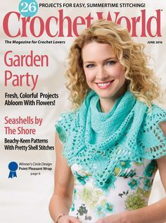 Official site - With Crochet World magazine, you'll never be without crochet patterns again. Each issue is packed full of crochet designs to keep you stitching all year long. Crochet Chart, Knit Or Crochet, Free Crochet, Crochet Sweaters, Crochet World, Knitting Magazine, Crochet Magazine, Knitting Books, Crochet Books