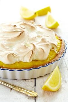 Opskrift på citron tærte