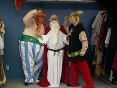 Astérix, Obélix et Panoramix   #ALBps-1-2-3