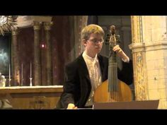 Folia Rodrigo Martinez (anonyme fin XVème) - Valentin TOURNET : Basse de Viole de Gambe - YouTube